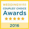 Wedding Wire Brides Choice Award 2016